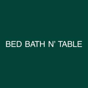 Bed Bath N' Table Logo