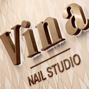 Vina Nail Studio Logo